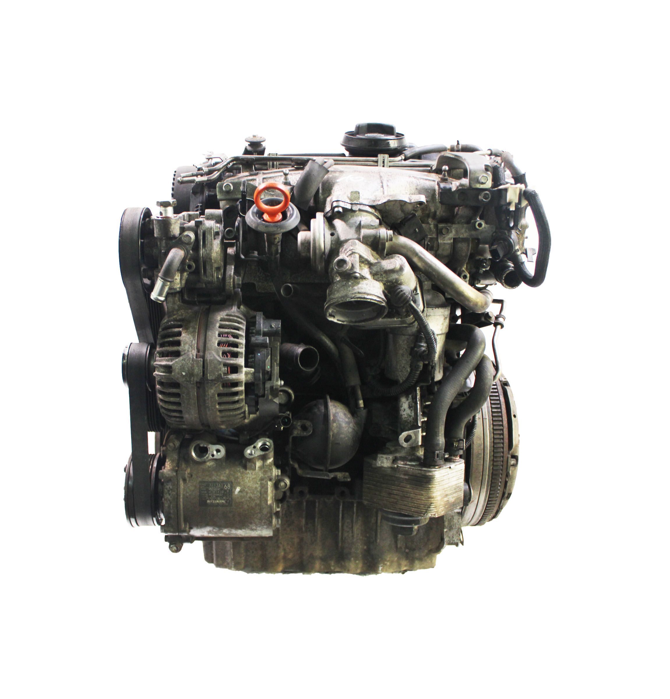 Motor für Mitsubishi Outlander MK2 II 2,0 DI-D Diesel BSY 140 PS 103 KW