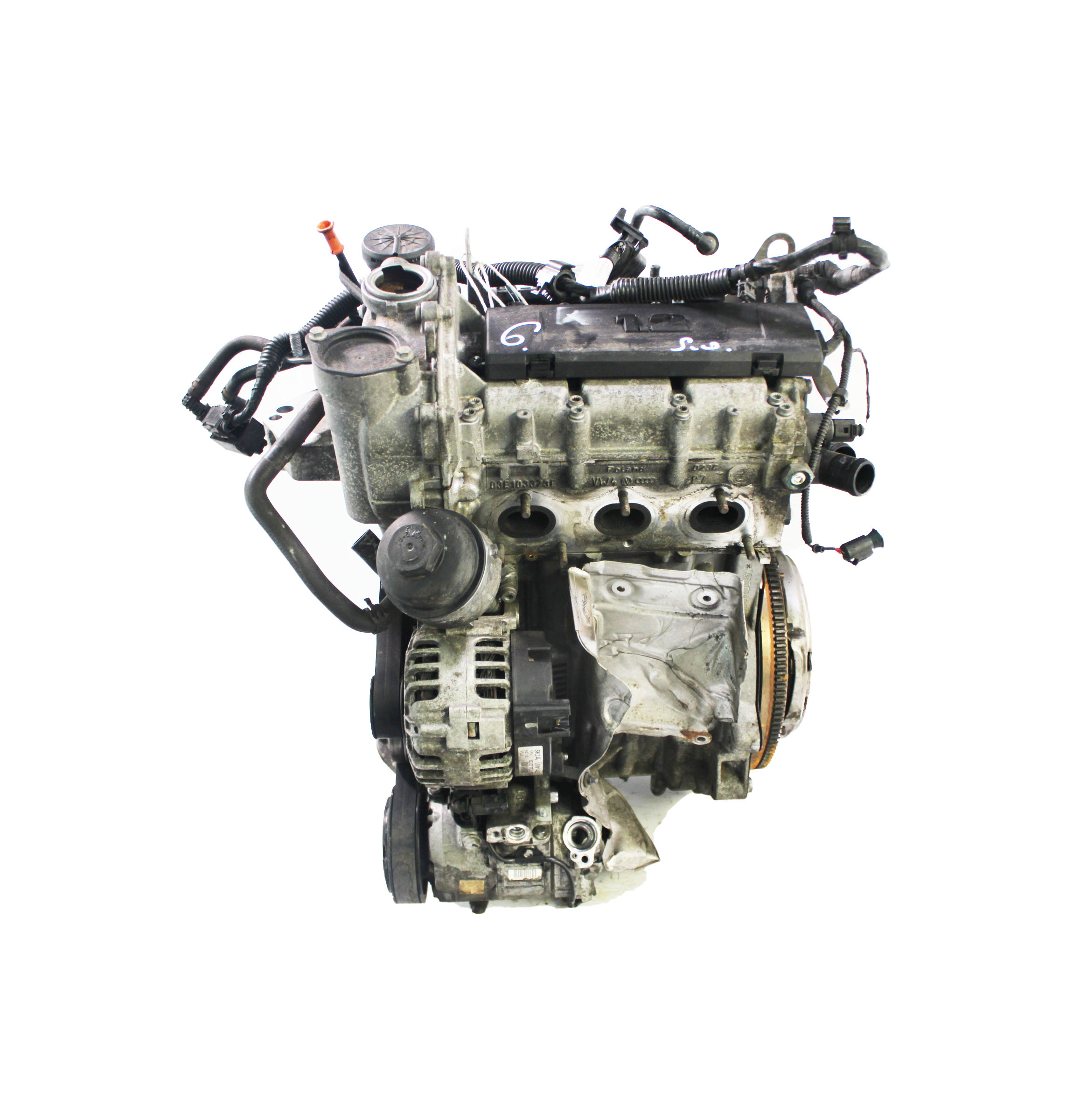 Motor für VW Polo 6R 1,2 Benzin CGPA CGP 70 PS 51 KW