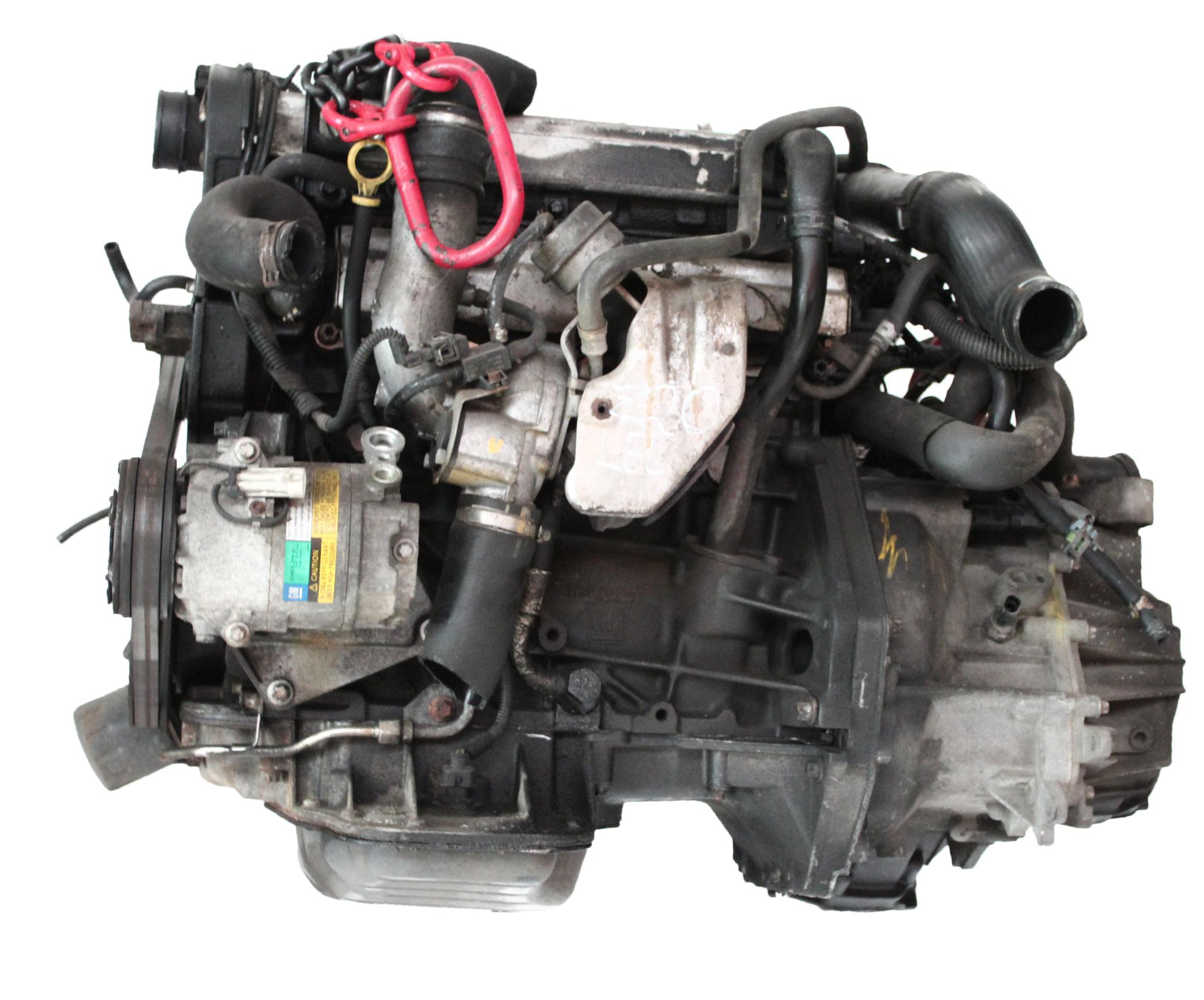 Motor 2004 Opel Astra H 2,0 Turbo Z20 Z20LEL mit Getriebe und Anbauteilen