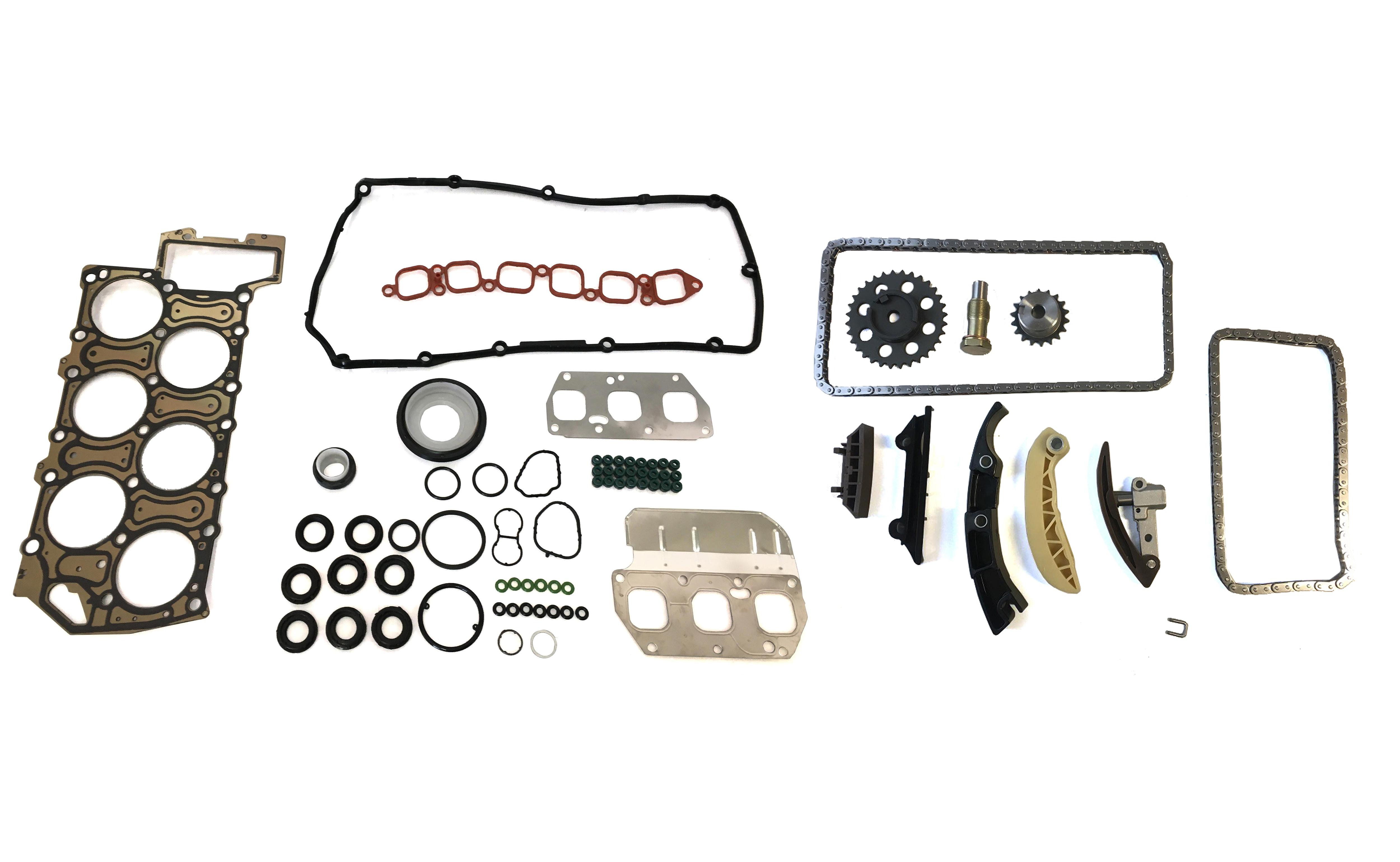 Komplettsatz Dichtungssatz Kettensatz VW 3,2 V6 BKK BJS BKJ NEU