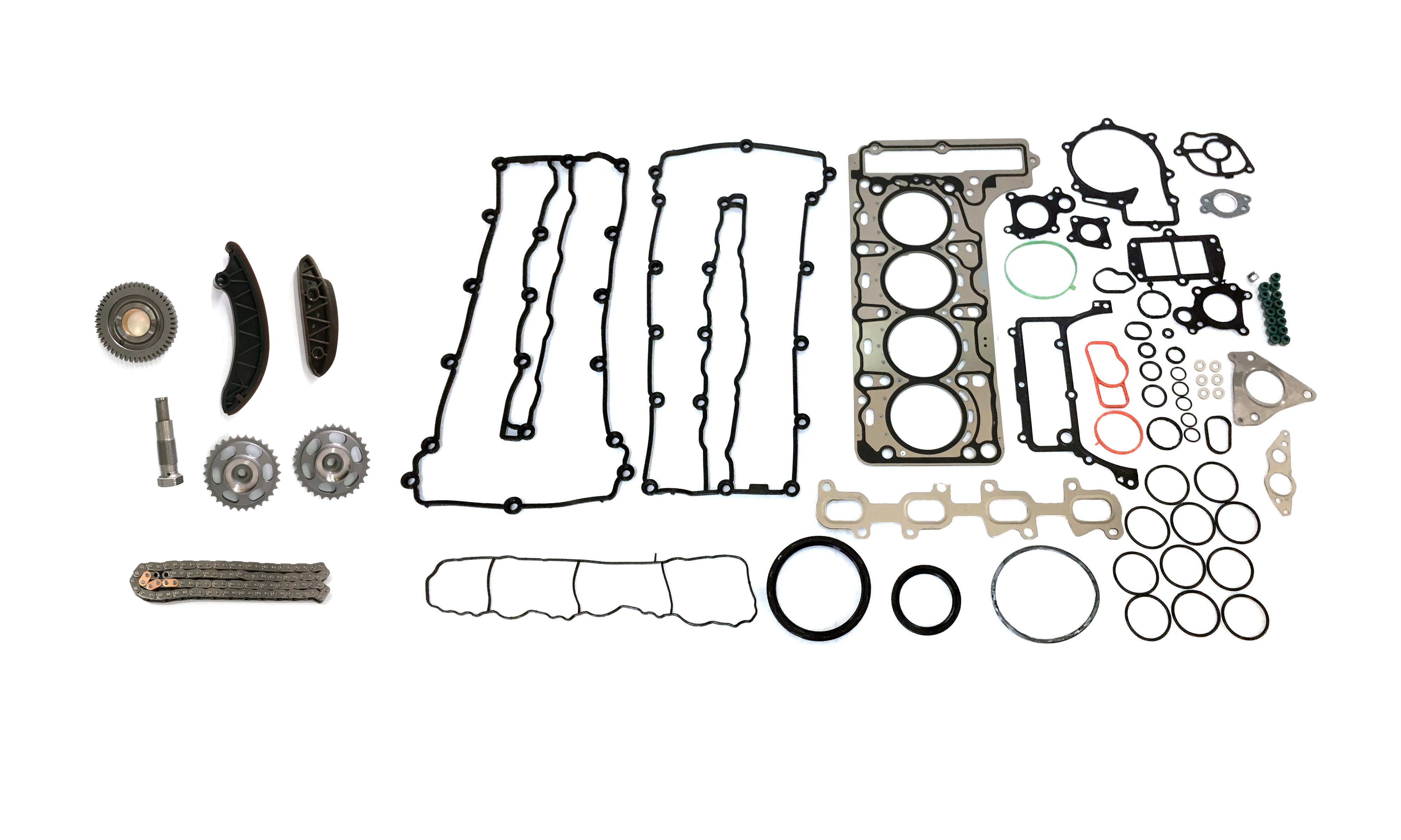 Timing chain set cylinder head gasket Mercedes W205 C250 2.2 CDI 651.911 NEW