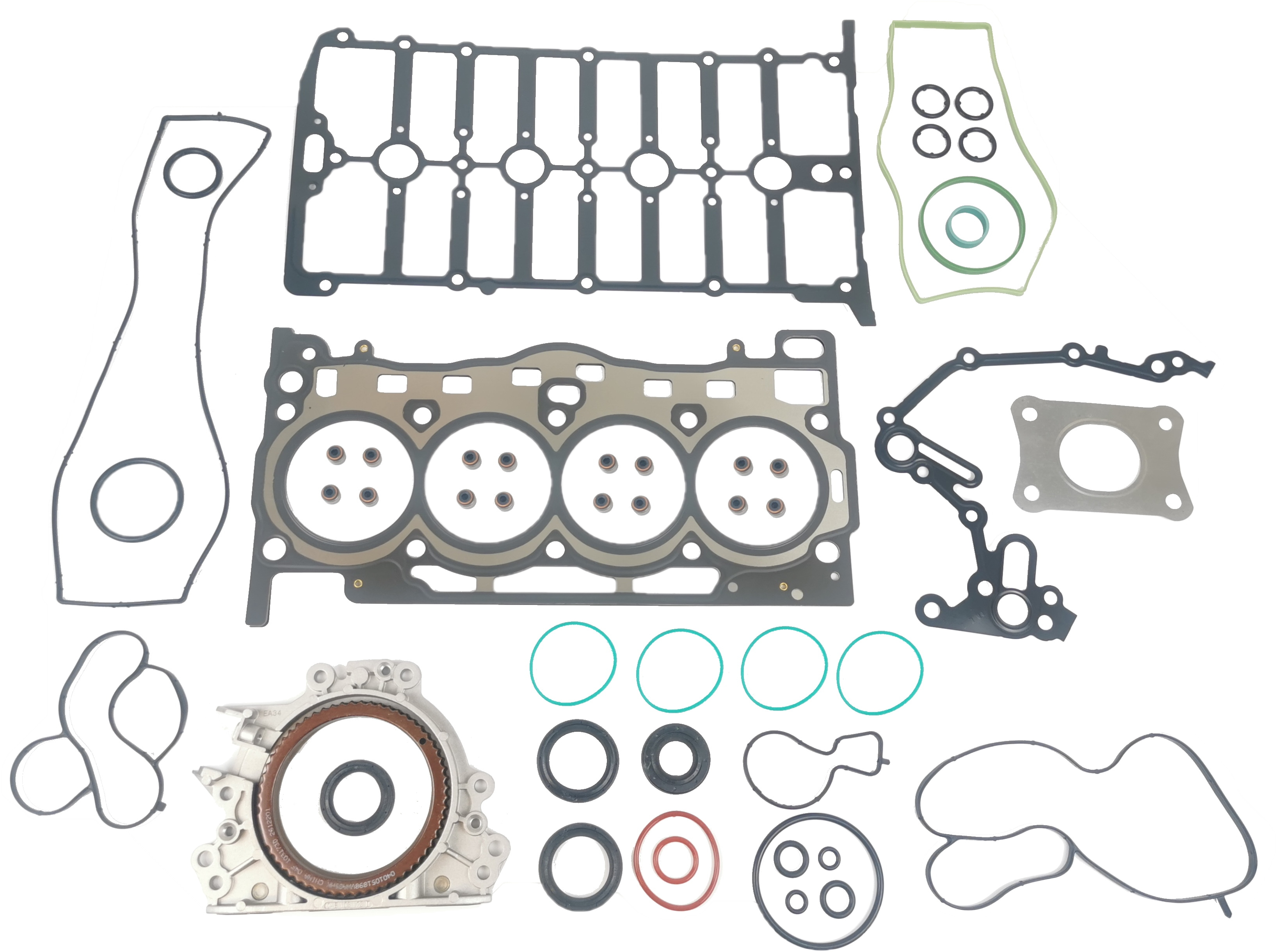 Zylinderkopfdichtung Dichtungssatz für Audi Seat Skoda VW 1,4 TSI TFSI CRJ NEU
