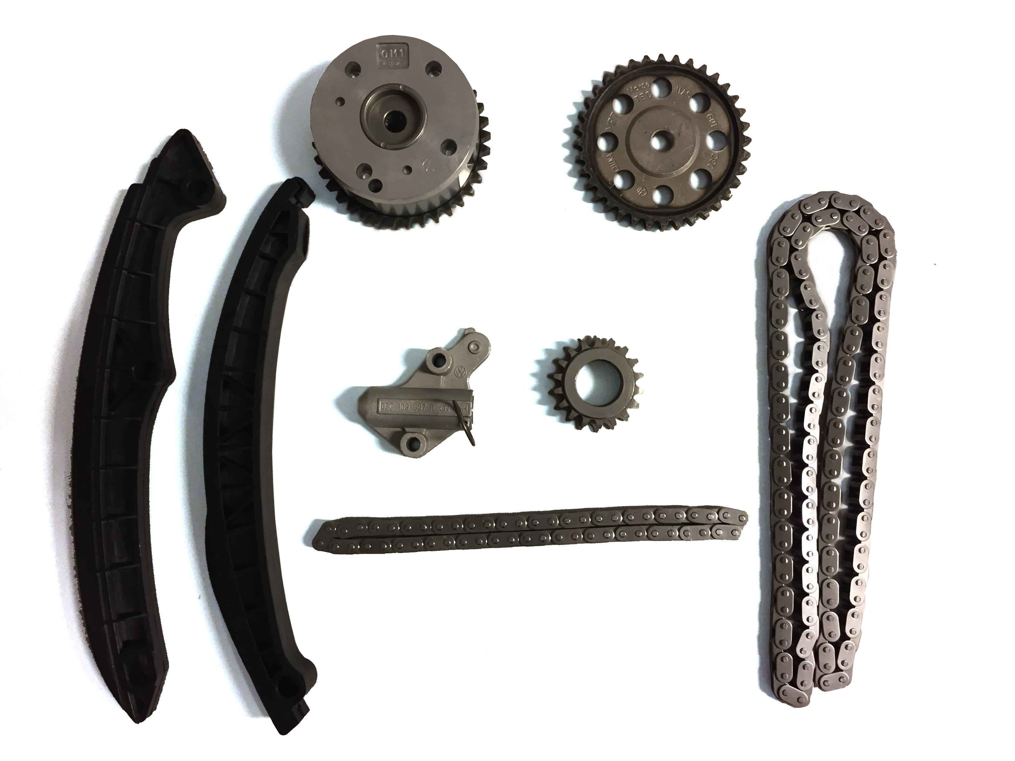 Timing chain set Camshaft Adjuster VW 1.4 CTH CTK NEW