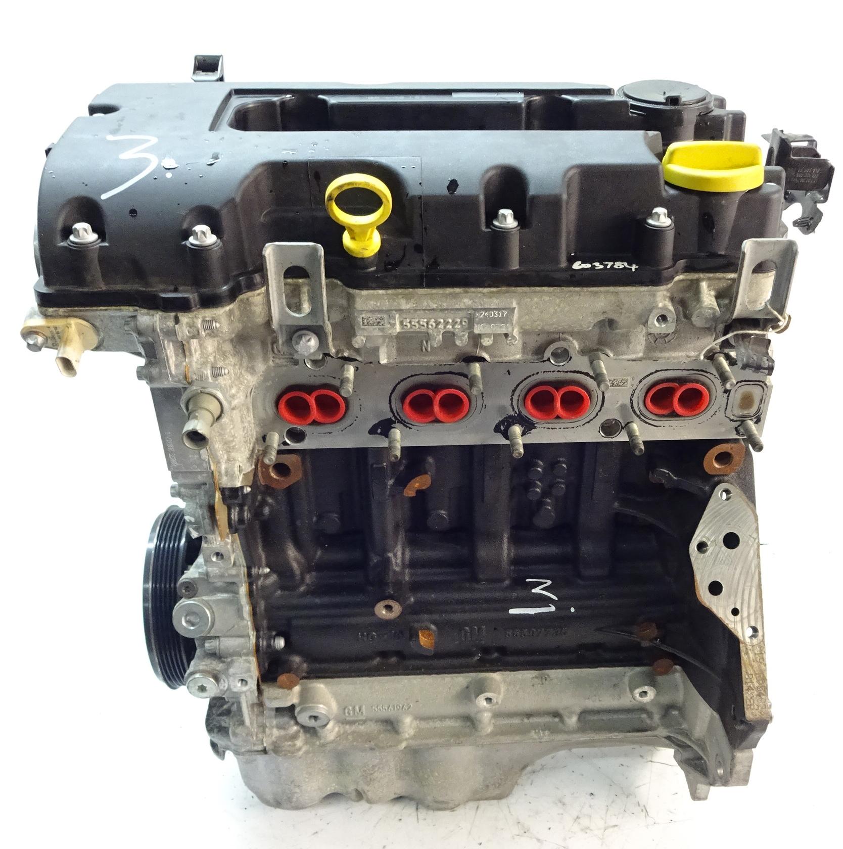 Motor 2017 Opel Astra J Meriva B Adam 1,4 B14XER B14