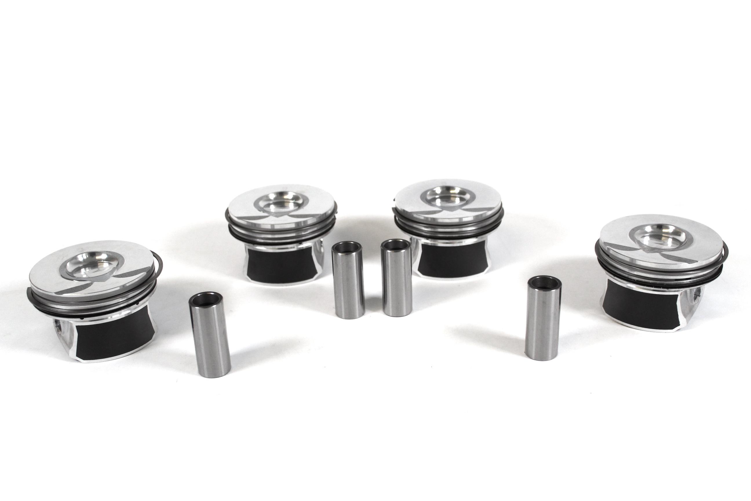 4x Kolben Übermaß + 0,25mm Mini Clubman R55 1,6 Cooper S N14B16AB NEU