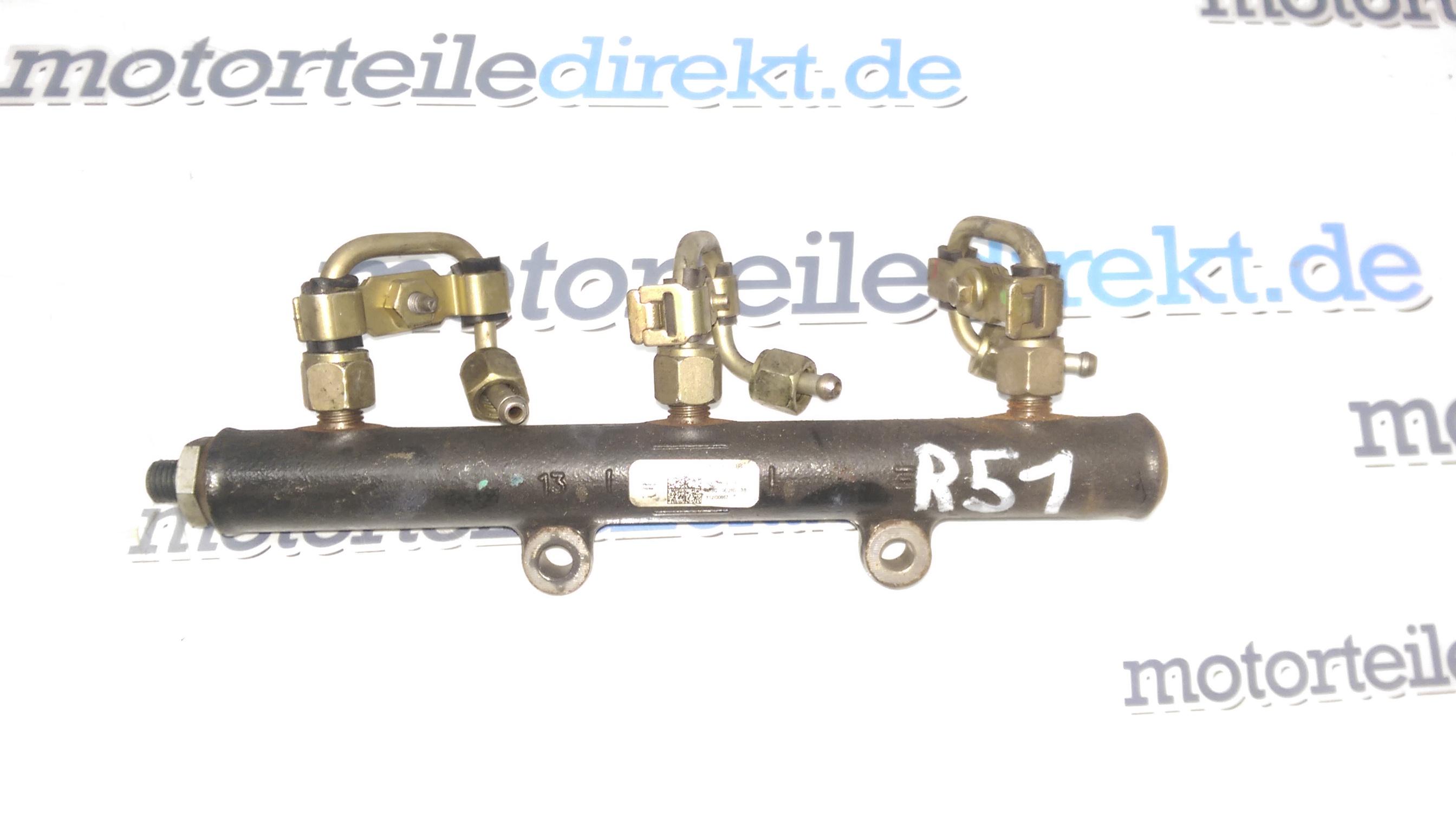 Tubo rail Kraftstoffverteiler land Discovery IV 2,7 276DT 4R8Q-9D280-BB IT31740
