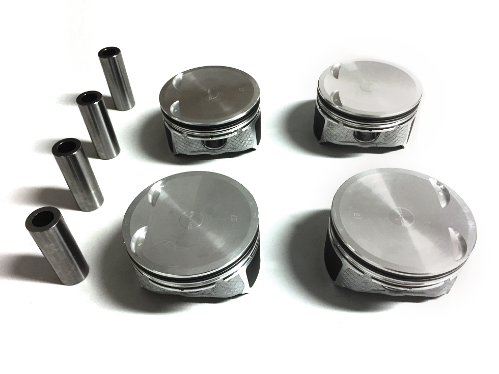 Piston kit 4x Piston Ford CR19 2.0 16V AODB LF LF17 LF18 NEW