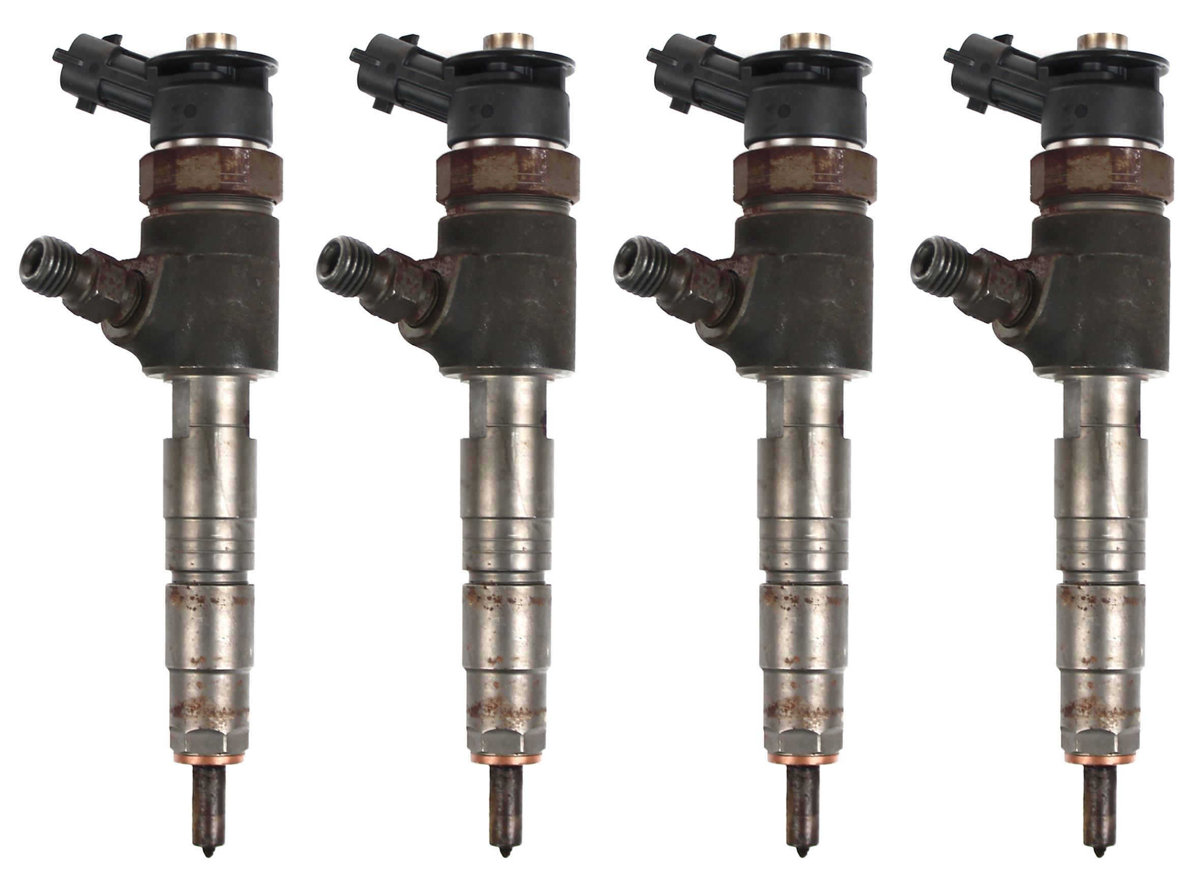 4x injector nozzle Citroen Fiat Ford Peugeot 1.6 D 0445110340 9687069280 1696927