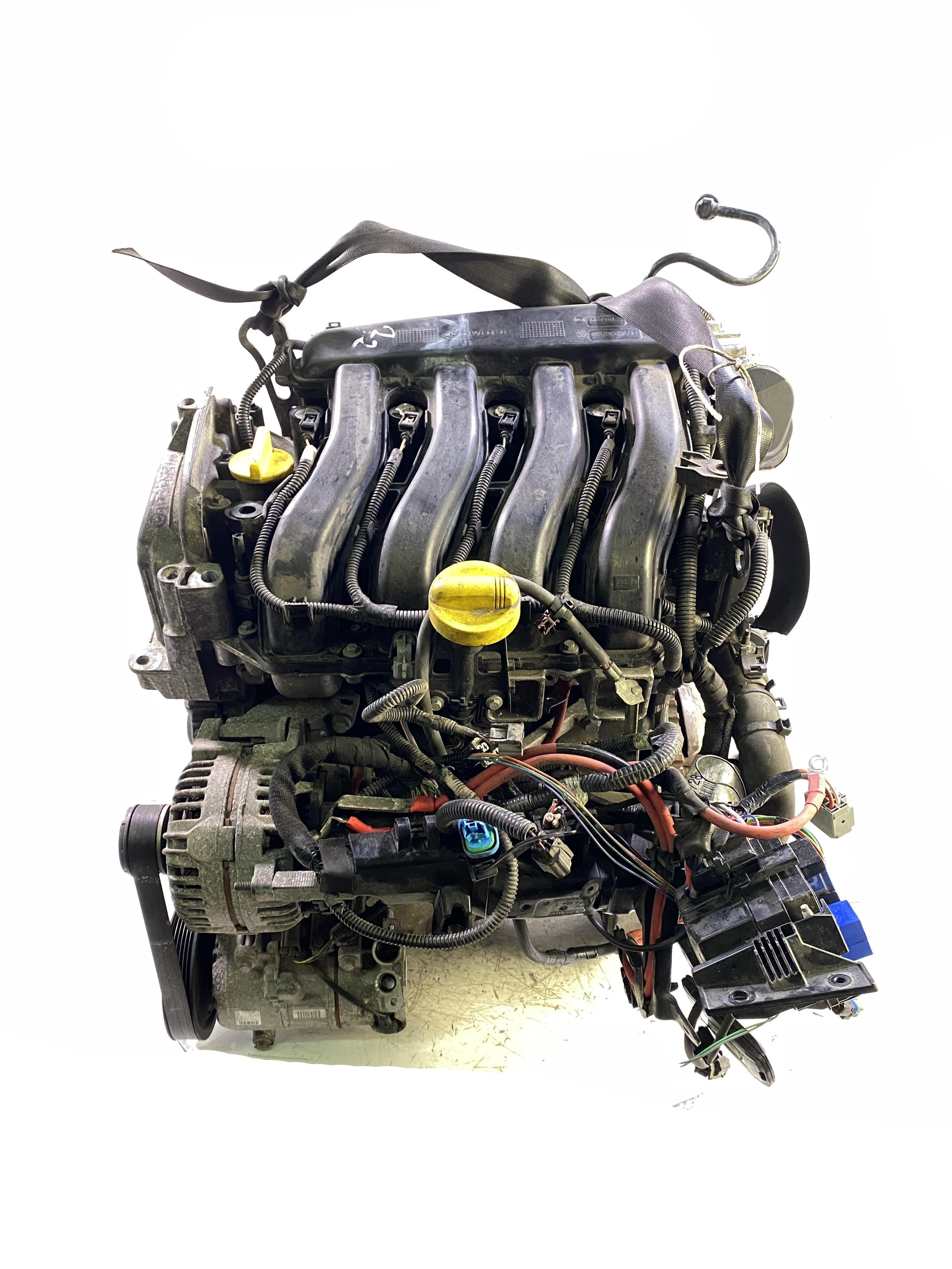 Motor mit Anbauteilen für Renault Megane III 1,6 16V K4M K4M858