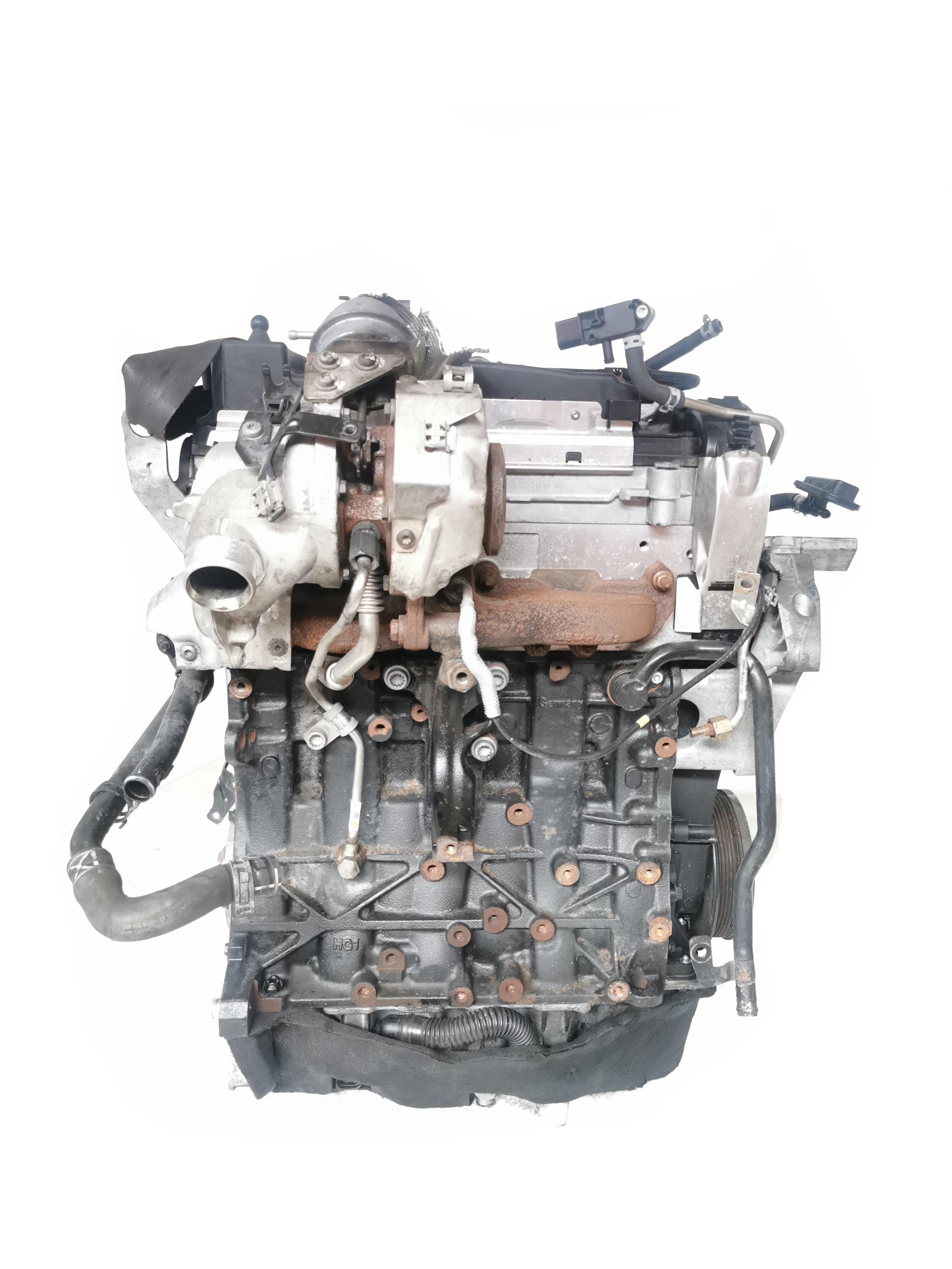 Motor 2013 mit Anbauteilen VW Audi Golf VII Leon Octavia A3 1,6 TDI CLH CLHA