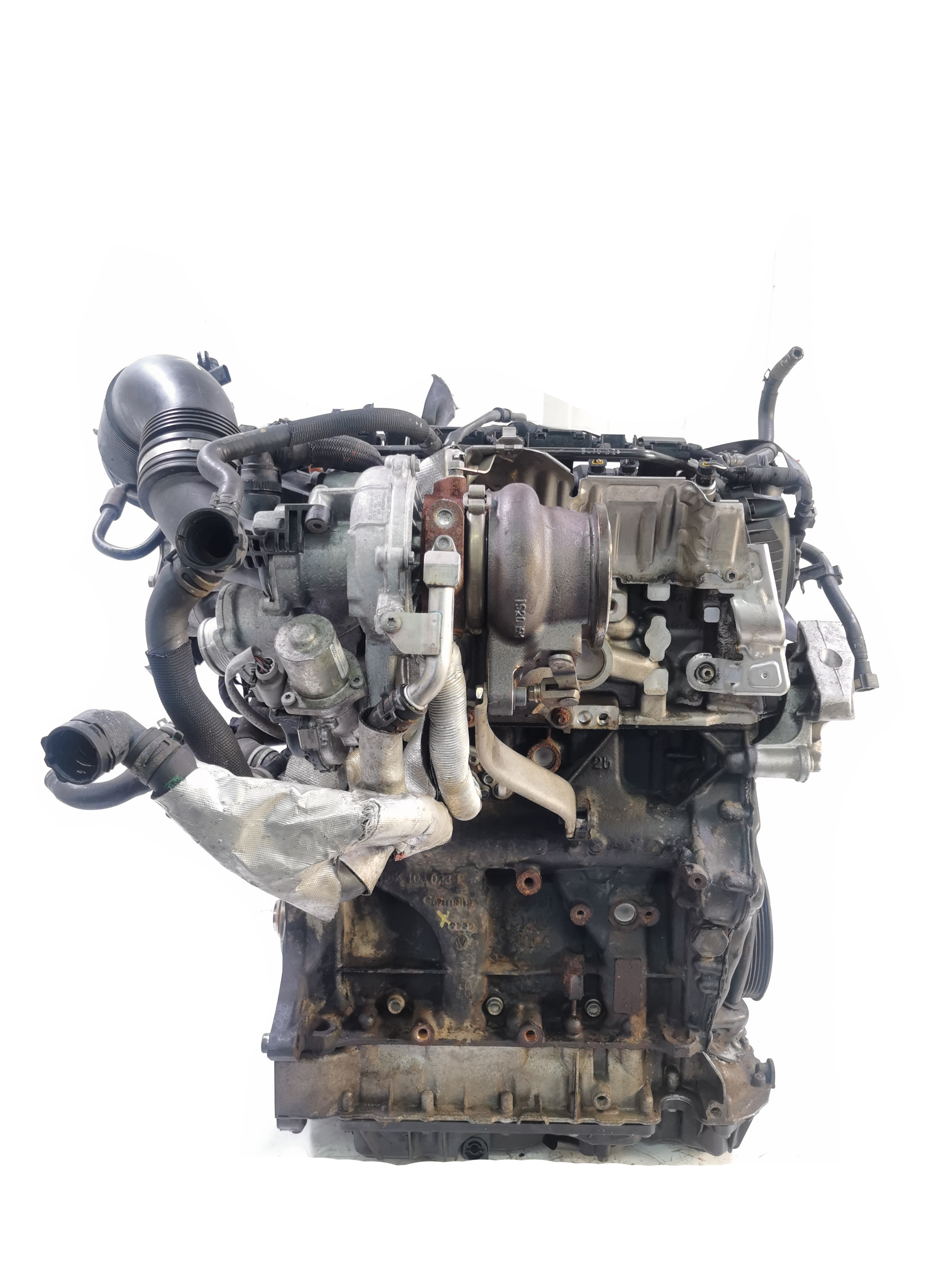 Motor mit Anbauteilen 2013 VW Skoda Golf GTI Octavia 2,0 TSI TFSI CHH CHHB