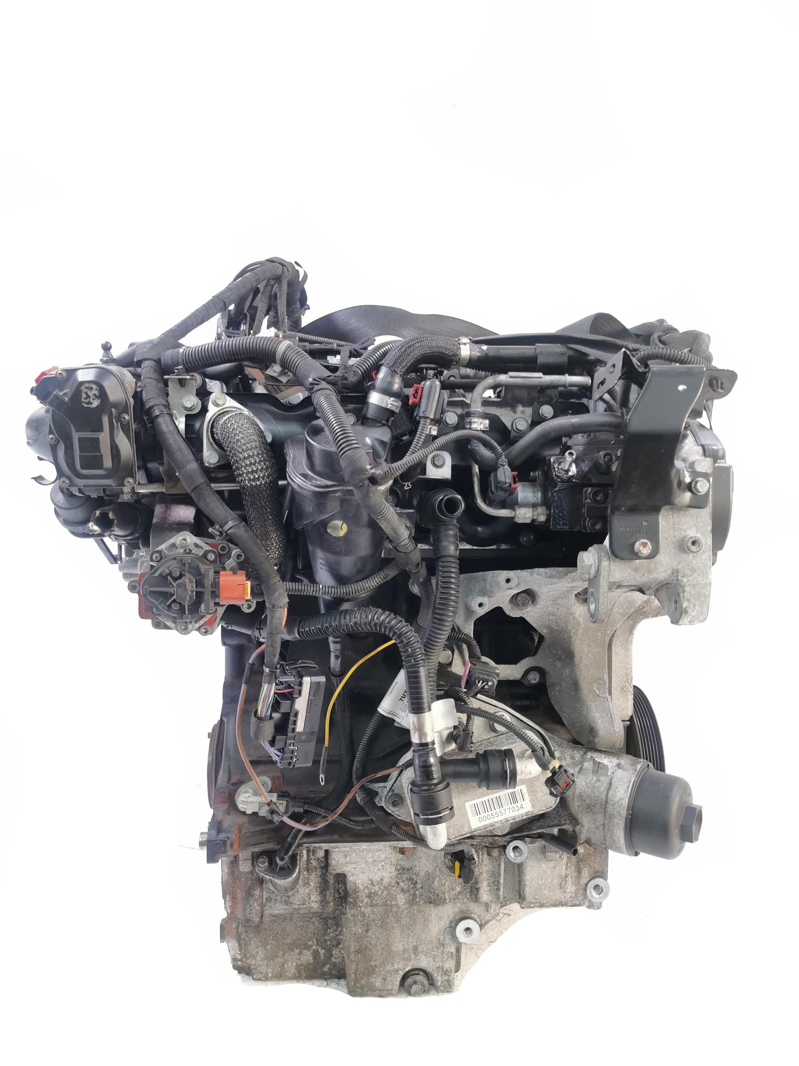 Motor mit Anbauteilen 2011 Opel Vauxhall Insignia A 2,0 CDTI A20DT