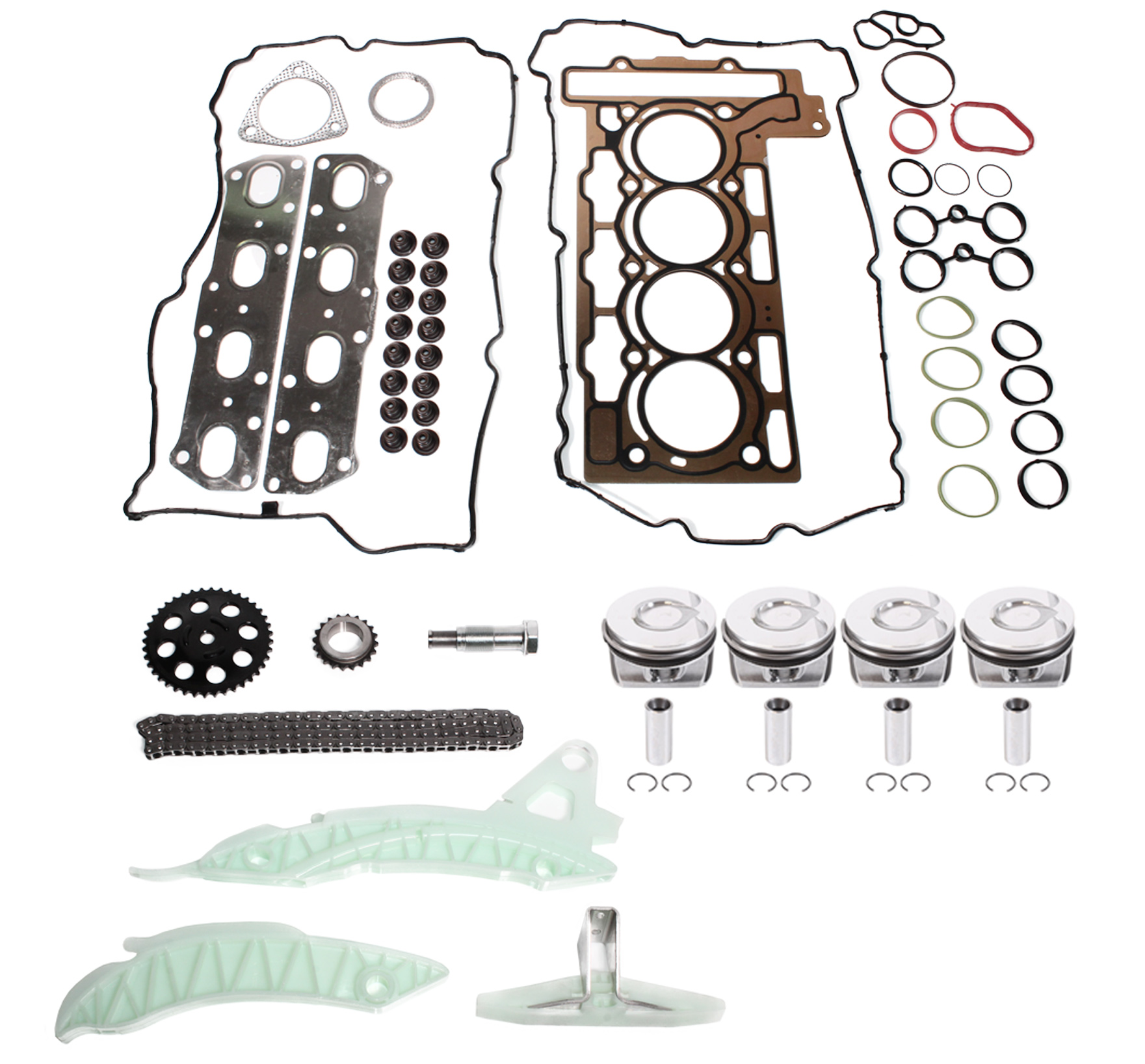 Cylinder head gasket Timing chain kit Mini John Cooper Works 1.6 N14B16A NEW