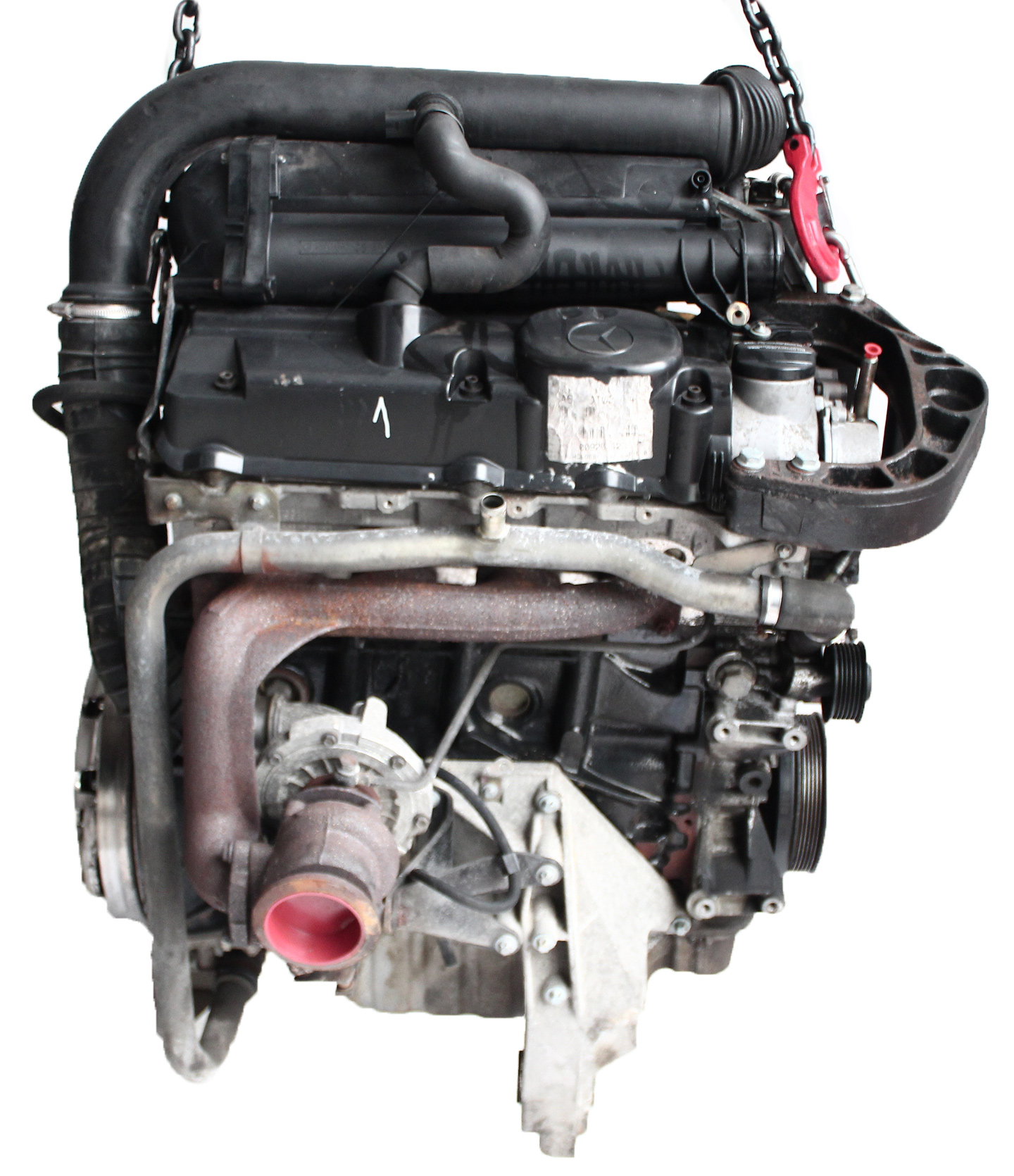 Motor 2002 Mercedes Benz Vito 638 V-Klasse 2,2 CDI OM611 611.980 mit Anbauteilen