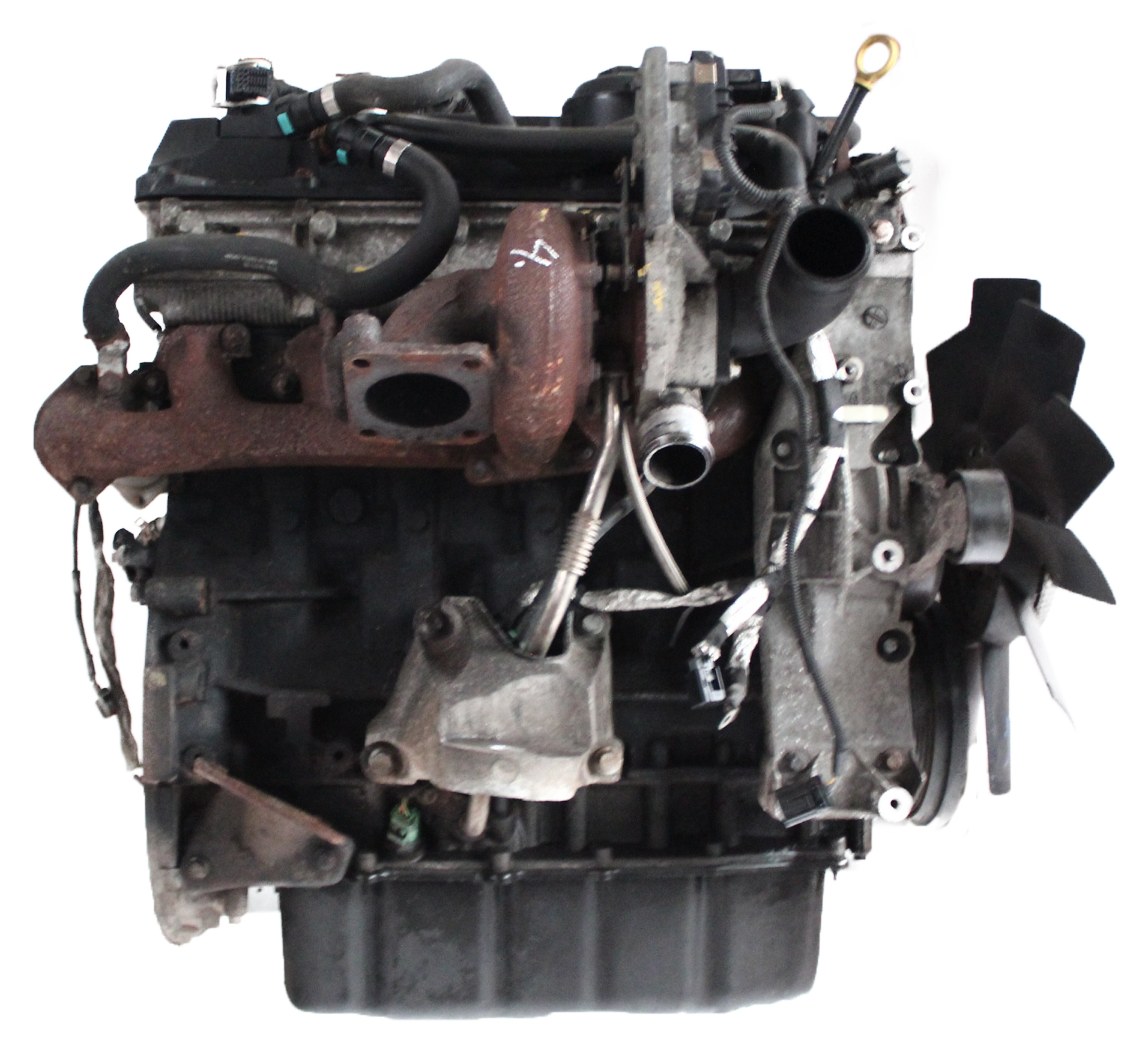 Motor 2008 Ford Transit FD 3,2 TDCi Diesel SAFA SAFB 200 PS mit Anbauteilen