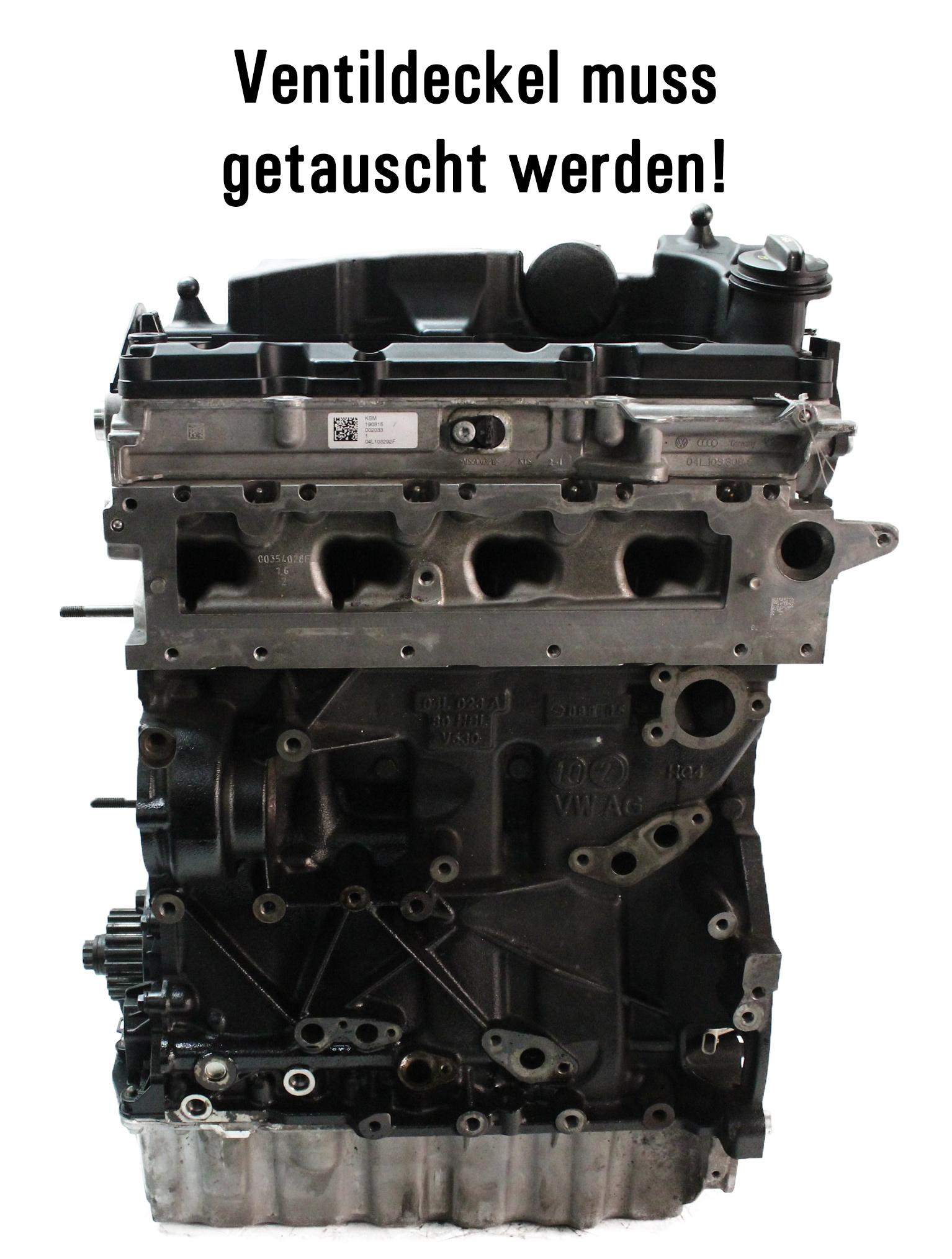 Motor Audi Seat Skoda VW A3 Leon Octavia Golf 1,6 TDI Diesel CLH CLHA
