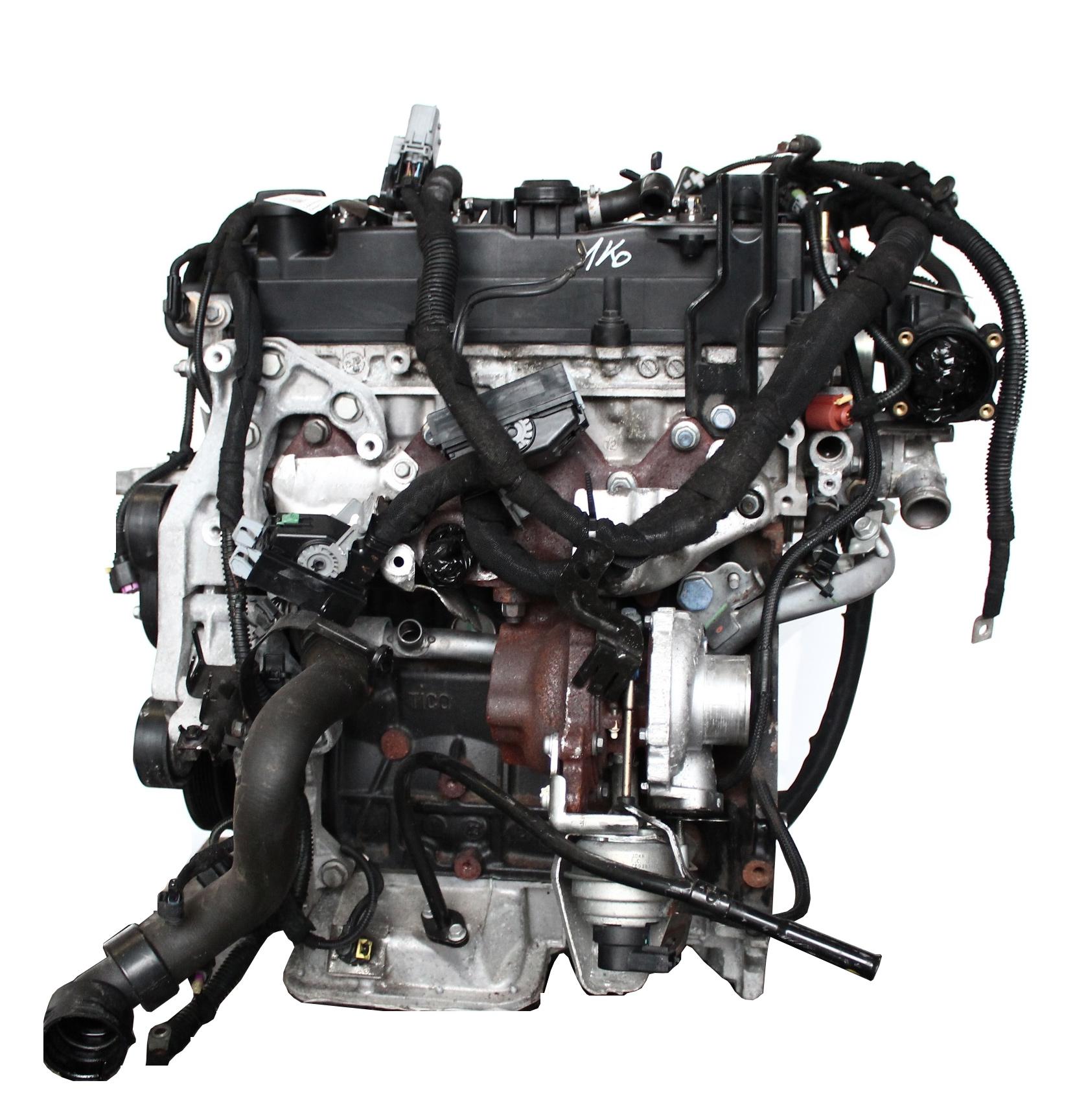 Motor 2013 Opel Astra GTC J Corsa D Meriva 1,7 A17 A17DTS mit Anbauteilen