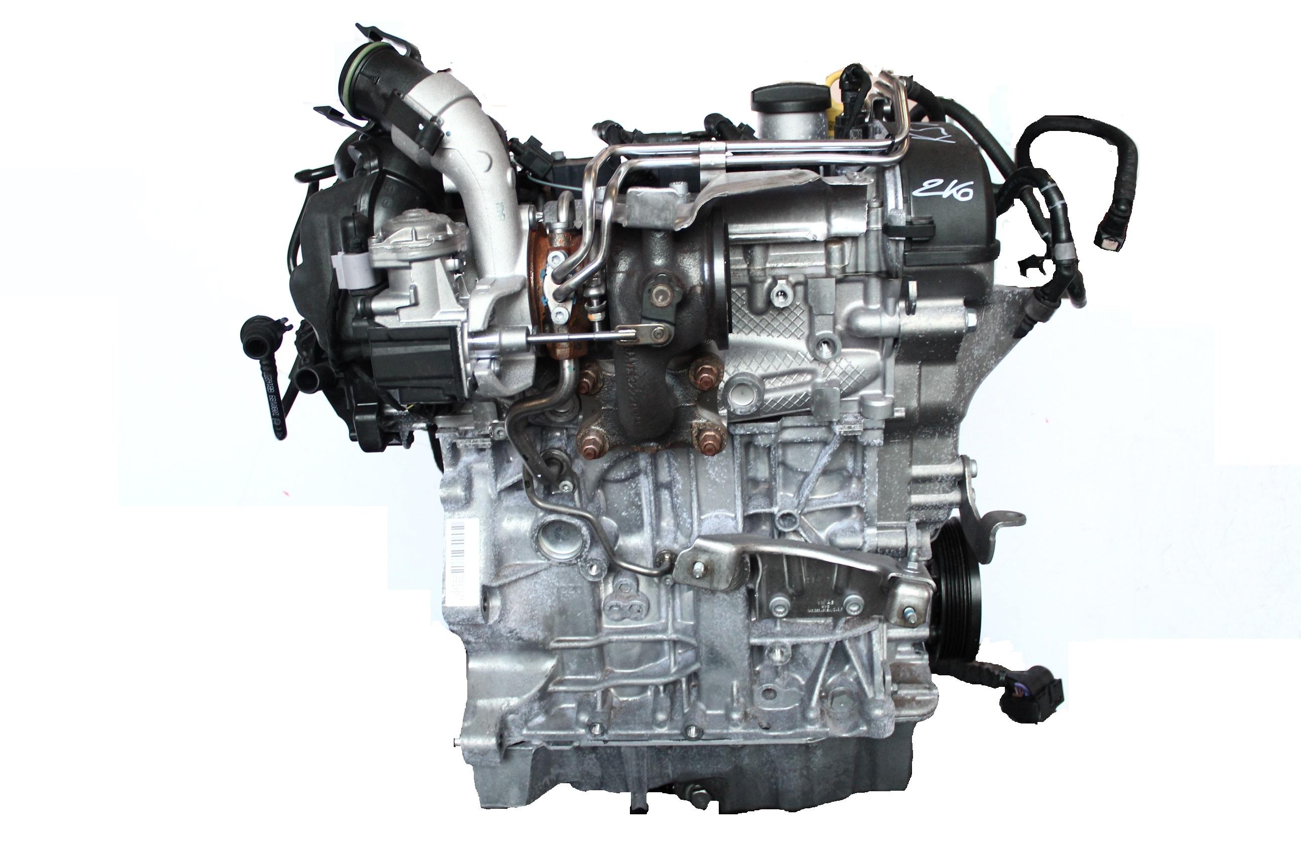 Motor 2017 Audi Seat Skoda VW A3 1,2 TFSI CJZ CJZA CJZB CJZC mit Anbauteilen