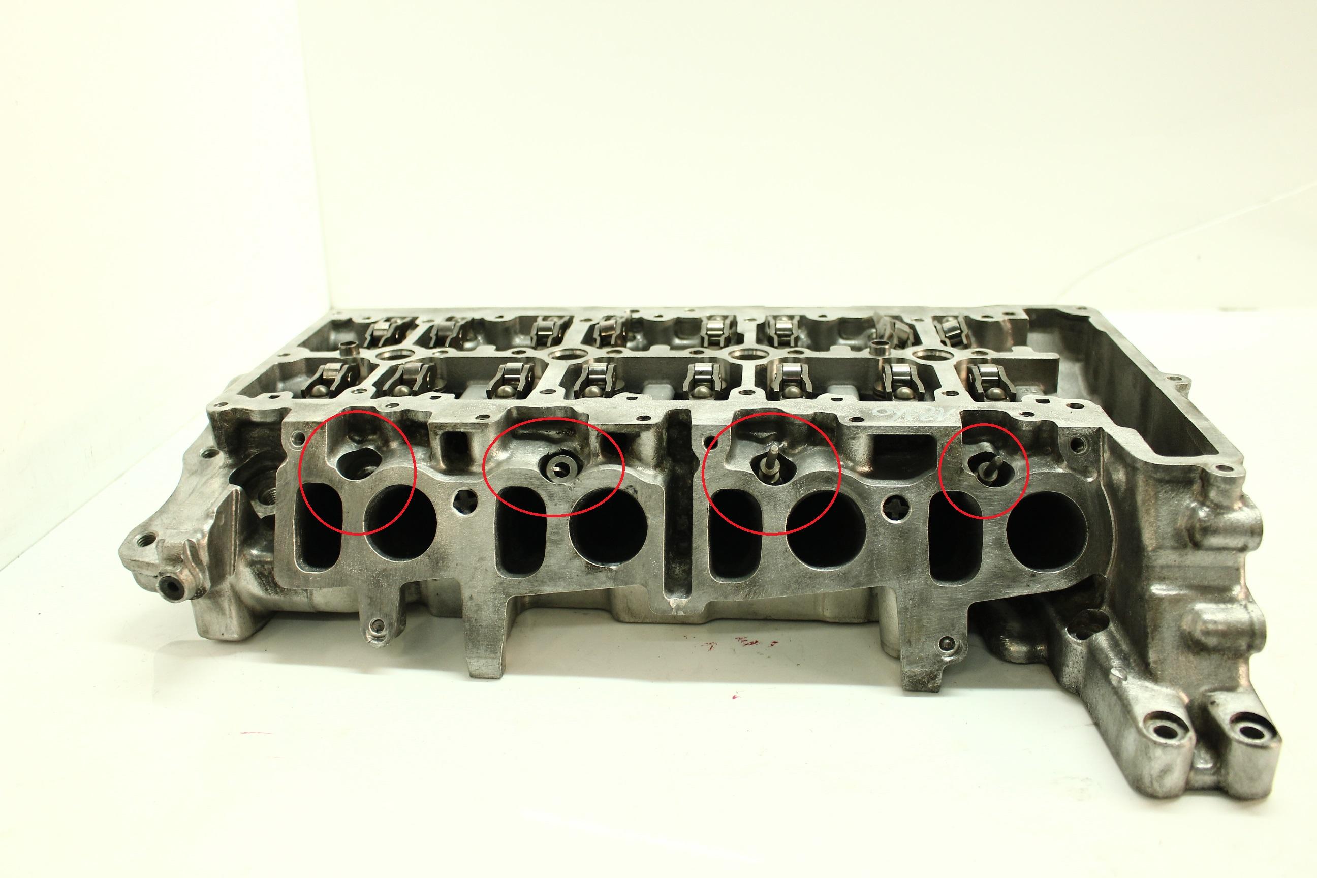 Testa cilindro BMW 2er F45 F46 218d 218 d 2,0 B47C20A