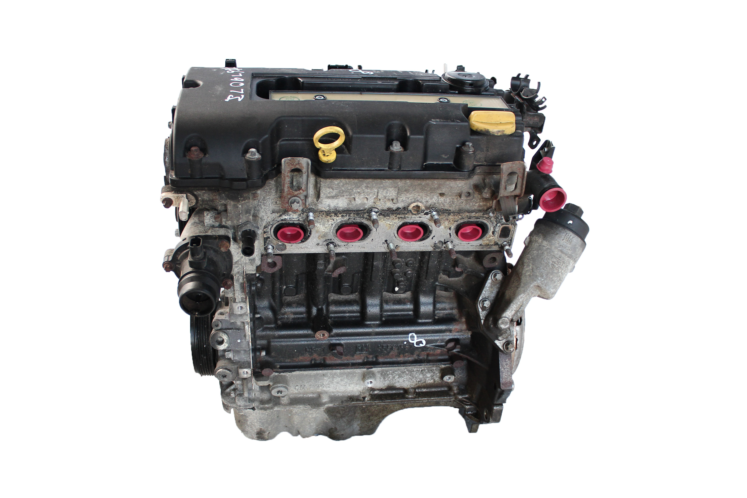 Motor Opel Vauxhall Chevrolet Corsa D Aveo A 1,2 A12 A12XER mit Anbauteilen