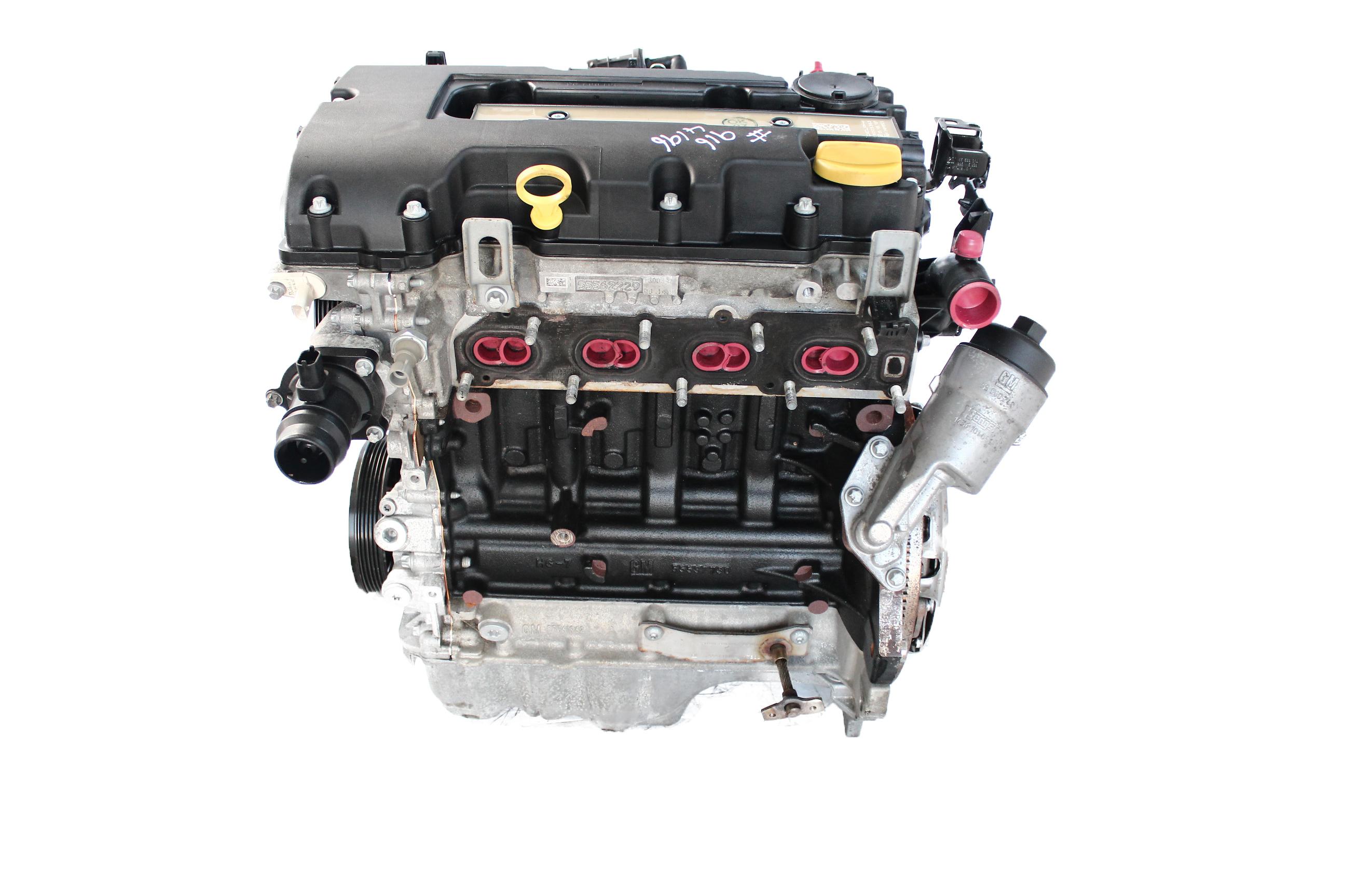 Motor 2018 Opel Astra J Meriva Adam 1,4 B14XER mit Anbauteilen Baugleich A14XER