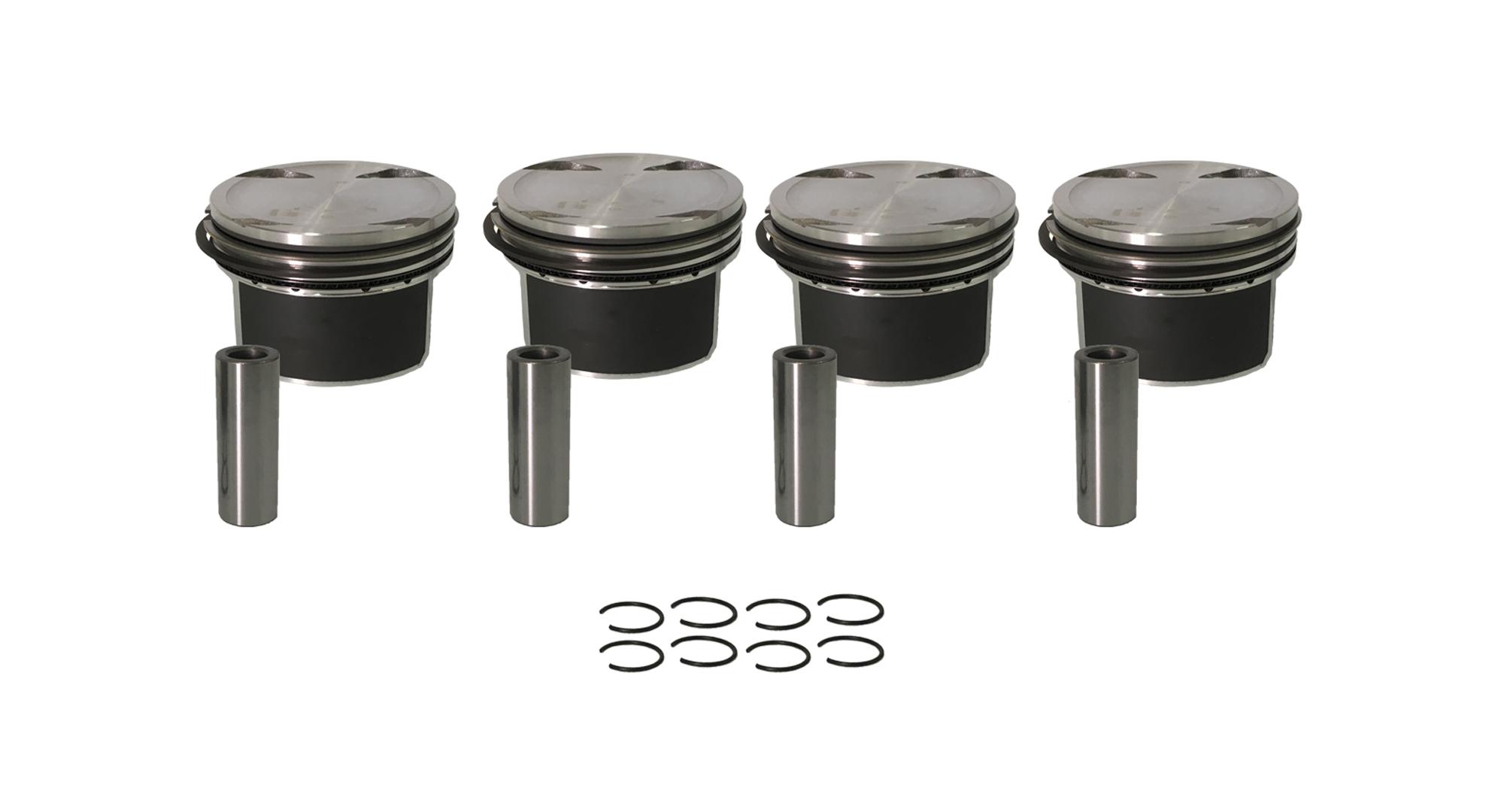 4x Kolbenring Mercedes-Benz C-Klasse W203 W204 C200 1,8 271.941 271.942 NEU
