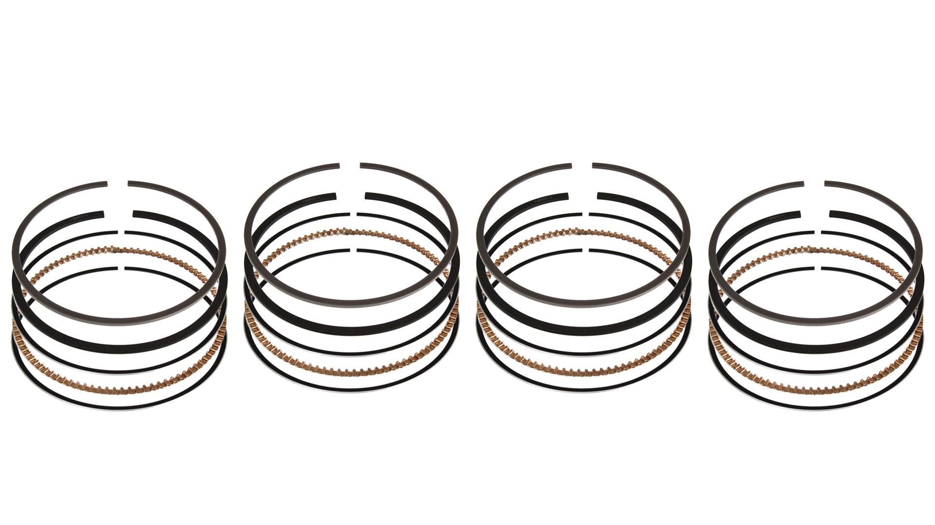 4x Segments de pistons BMW série 1 F20 F21 114 116 118 120 i 1,6 N13B16A N13 11257566479 NOUVEAU