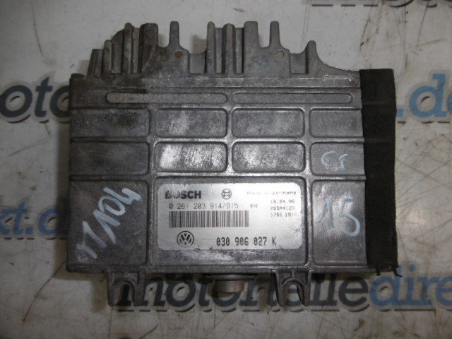 Control unit Seat Ibiza Arosa VW Golf Polo Caddy 1.4 petrol AEX 030906027K