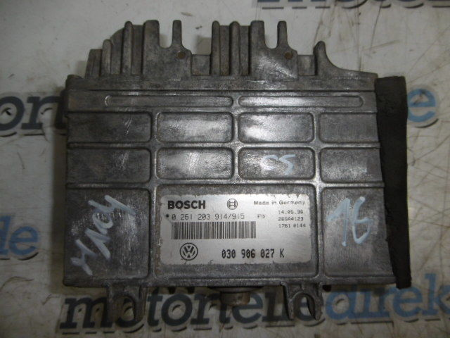 Control unit Seat Ibiza Arosa VW Golf Polo 1.4 petrol AEX 030906027K
