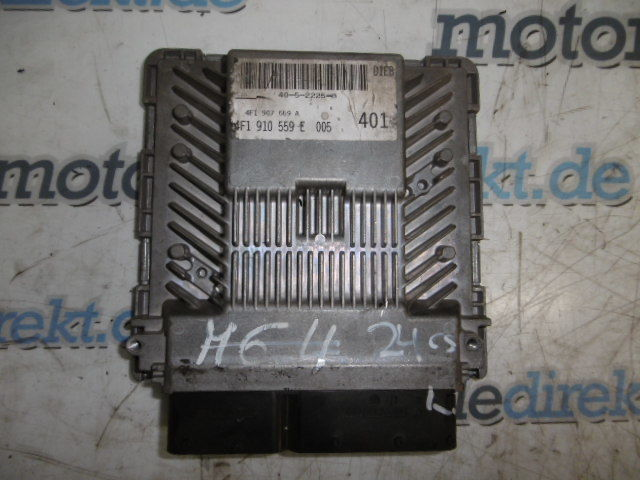 Engine control unit Audi A6 3.2 FSI 255 PS 188 KW BKH 1910559E