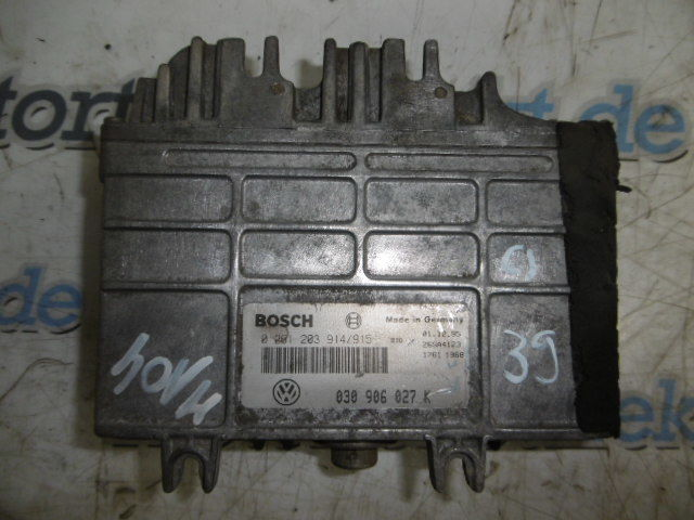 Control unit Seat Ibiza Arosa VW Golf Polo 1.4 petrol 40 - 44 KW AEX 030906027K