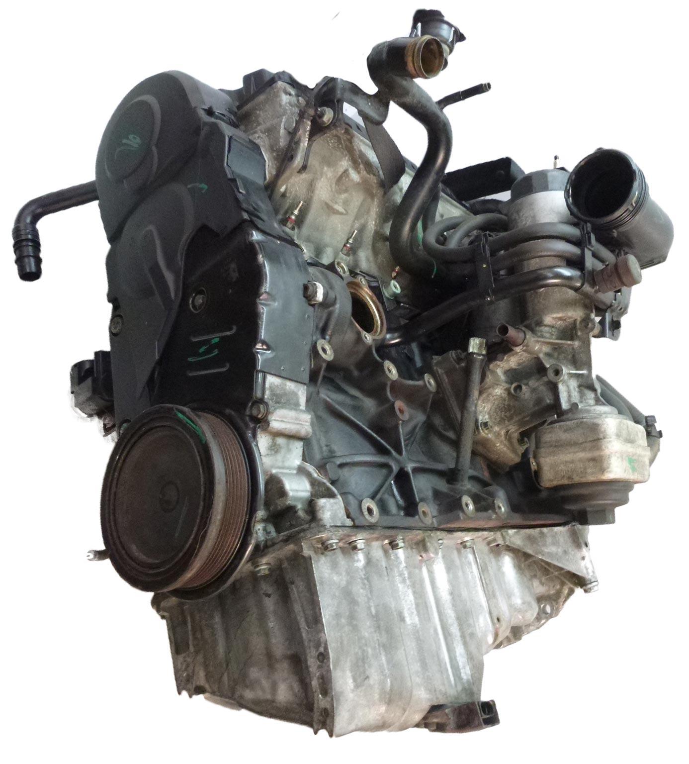 Motor Audi A4 B6 1,9 TDI Diesel BKE mit PD-Elementen und Anbauteilen DE300380