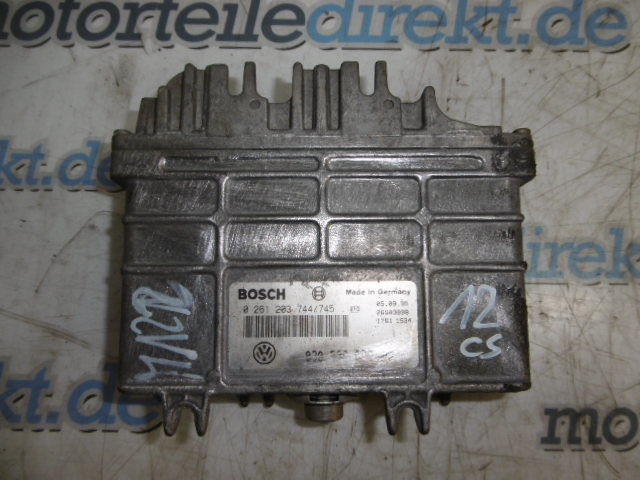 Control unit engine control unit VW Polo 6N 1.0 petrol AEV 0261203744 /745