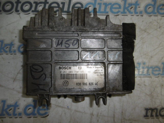 Control unit engine control unit VW Polo 6N 1.0 petrol AEV 45 HP 0261203744 /745