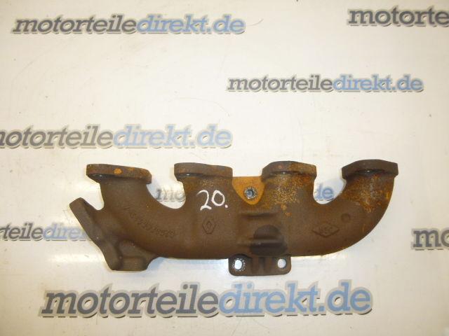 Collecteur d'échappement Opel Vivaro J7 Renault Trafic 2,0 CDTI dCi 115 M9R692 8200868133-A