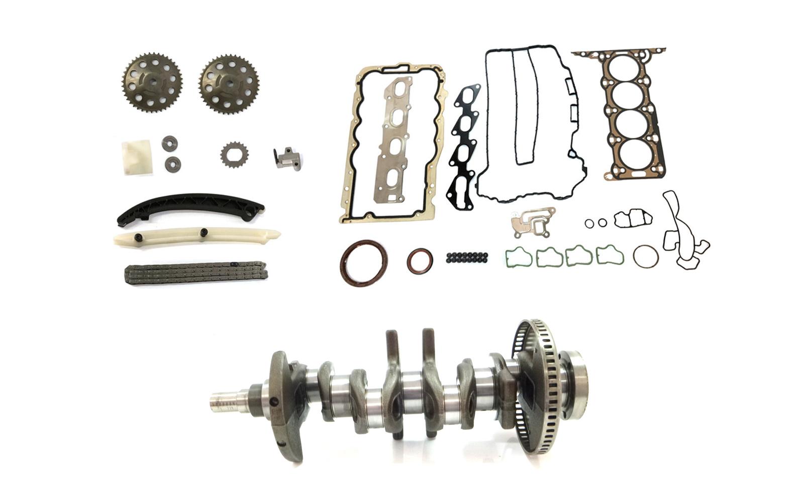 Kurbelwelle Kettensatz Opel Astra Combo Corsa 1,4 16V Z14XEL Z14XEP 24450968 NEU