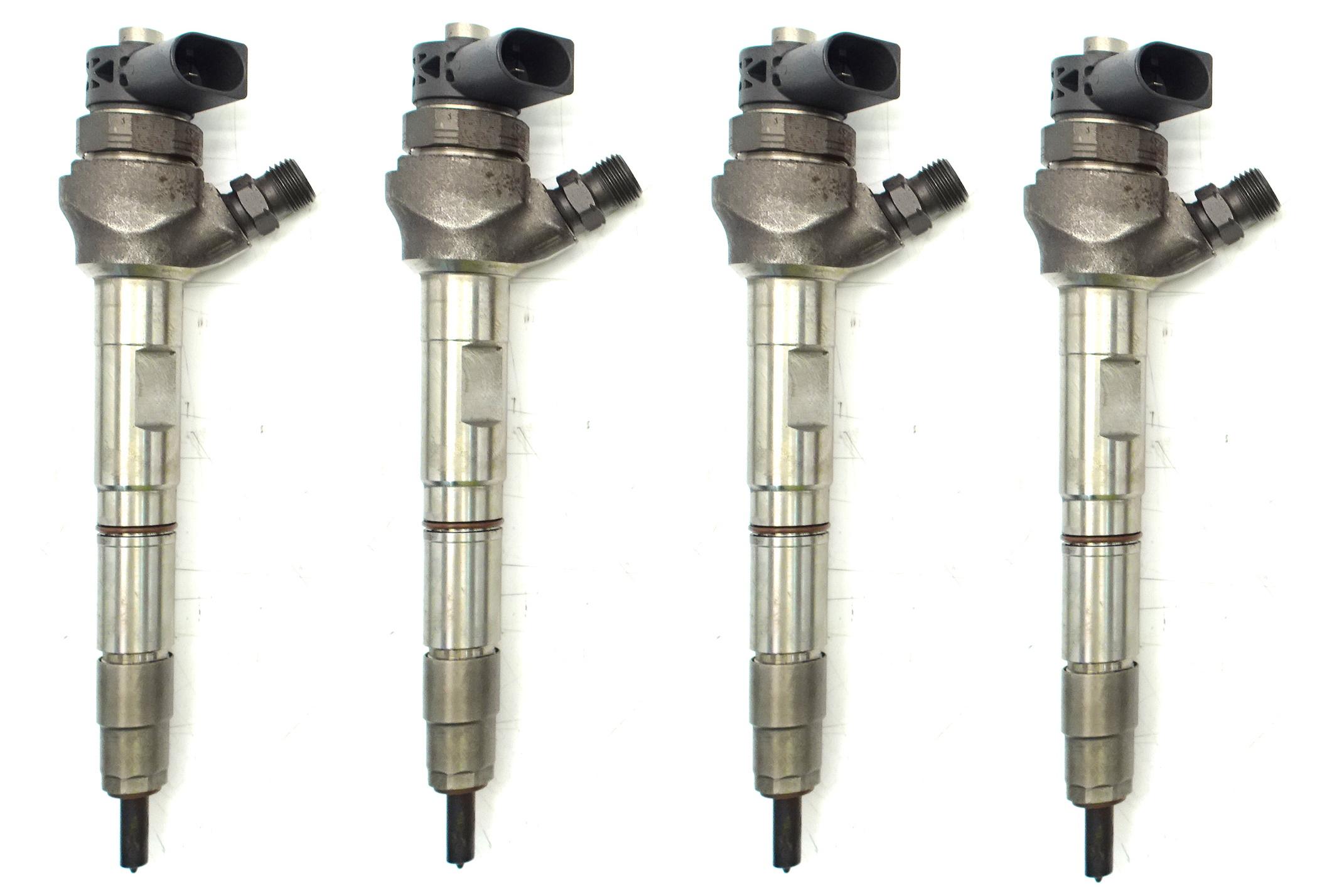 4x Audi Seat Skoda VW injector 2.0 TDI 0445110470 0986435257 04L130277AE